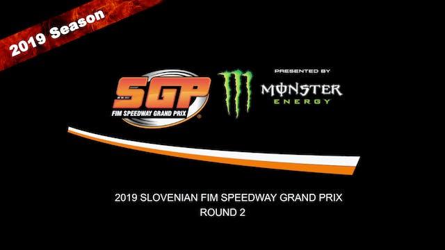 2019 SLOVENIAN FIM SPEEDWAY GRAND PRIX Rd 2