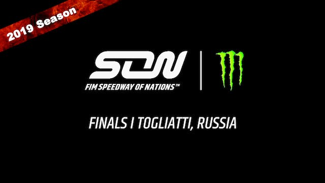 2019 MONSTER ENERGY  FIM SPEEDWAY OF NATIONS FINALS 1