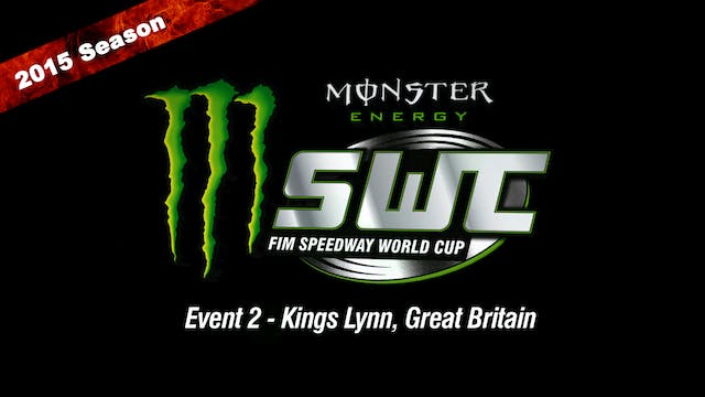 2015 Speedway World Cup Event 2 Kings Lynn