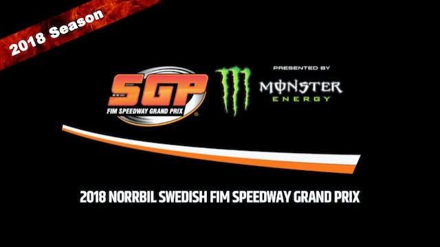 2018 NORRBIL SWEDISH FIM SPEEDWAY GRAND PRIX Round 4