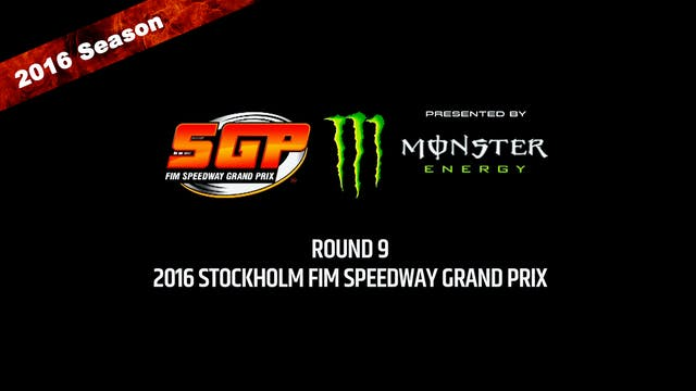2016 STOCKHOLM FIM SPEEDWAY GRAND PRI...