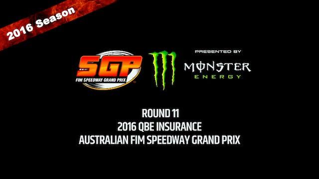 2016 QBE INSURANCE AUSTRALIAN FIM SPEEDWAY GRAND PRIX Round 11