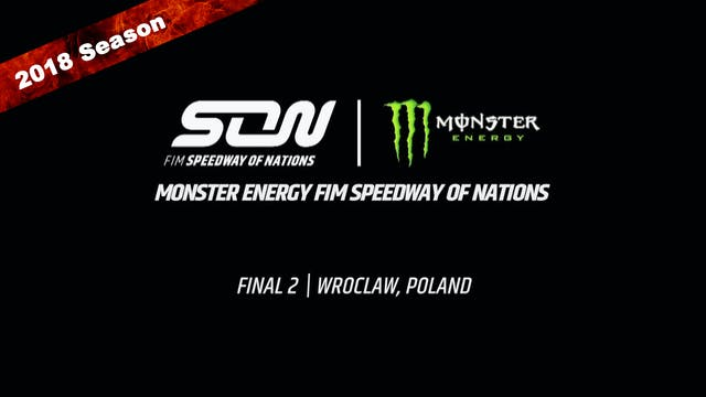 2018 Monster Energy FIM Speedway of N...