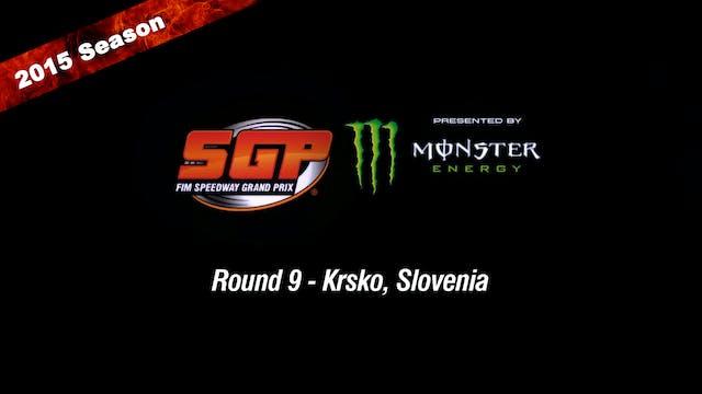 2015 MITAS SLOVENIAN FIM SPEEDWAY GRAND PRIX Round 9