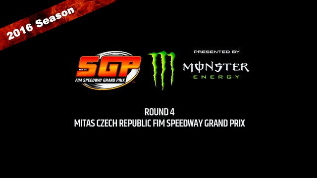 2016 MITAS CZECH REPUBLIC FIM SPEEDWA...