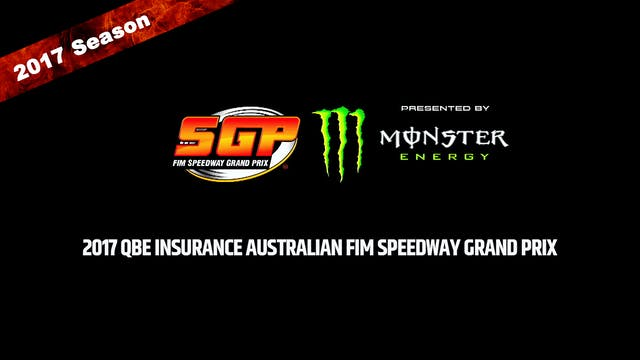 2017 QBE INSURANCE AUSTRALIAN FIM SPEEDWAY GRAND PRIX Round 12