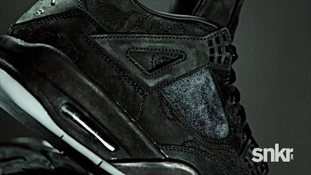 """KAWS x Air Jordan IV """"Black"""""""