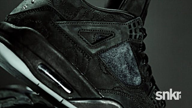 "KAWS x Air Jordan IV ""Black"""