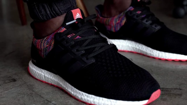 On-Foot Look at the mi adidas custom Ultra Boost