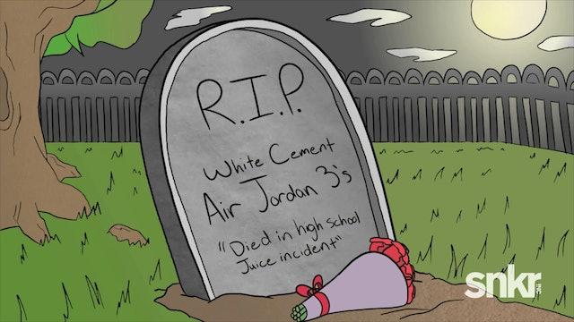 "Drumma Boy & The Jordan 3 ""White Cement"" Jungle Juice Incident"