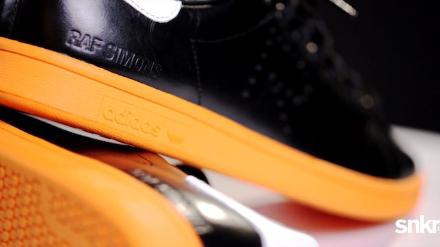 "Raf Simons x Adidas Stan Smith ""Black/Orange"""