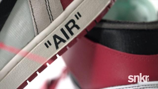 Off-White x Nike Air Jordan 1, Blazer, Air Max 90