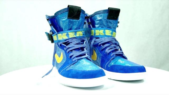 The Shoe Surgeon's IKEA x Air Jordan 1