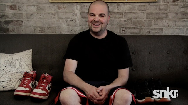 Jordan Geller, Creator of the Shoezeum