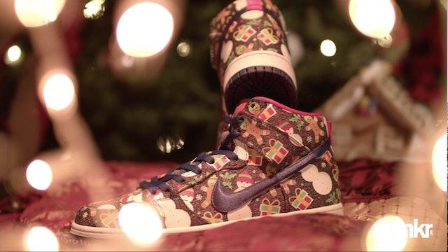"Concepts x Nike SB Dunk High ""Ugly Christmas Sweater 2017"""