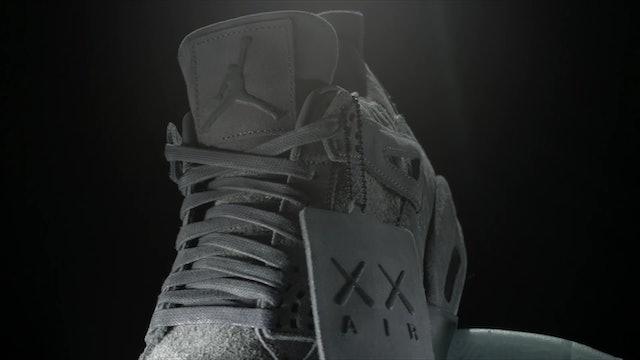 KAWS x Air Jordan IV