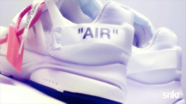 """Off-White x Nike Presto """"White & Cone"""""""