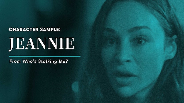 Character Sample: Jeannie (Who's Stalking Me?)
