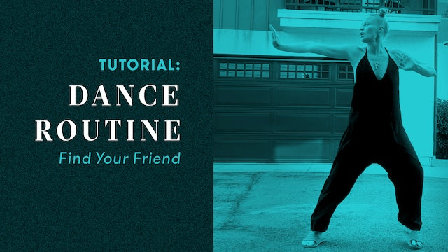 "TUTORIAL: Dance Routine ""Find Your Friend"""