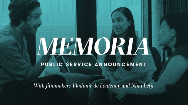 Memoria | Public Service Announcement