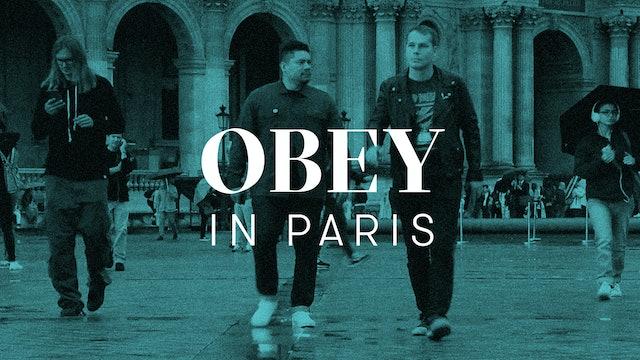 Obey In Paris