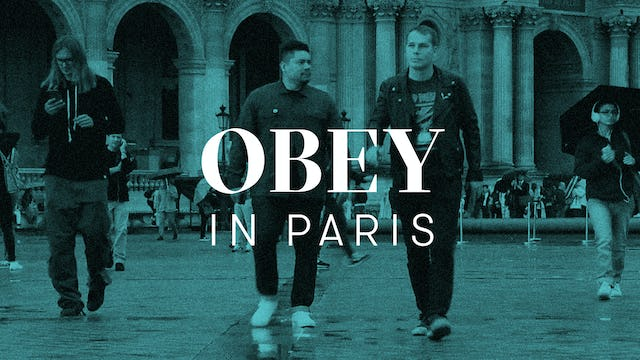 Obey In Paris