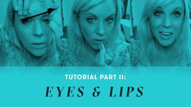 TUTORIAL Part II: Makeup Tips for Eye...