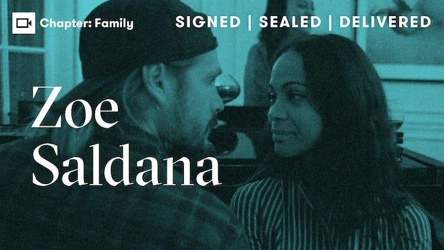 Zoe Saldana   Chapter: Family