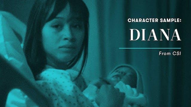 Character Sample: Diana Espinoza (CSI)