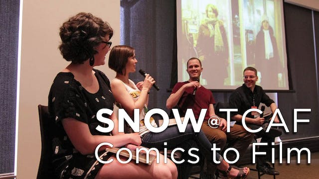 Snow at the 2014 Toronto Comic Arts Festival