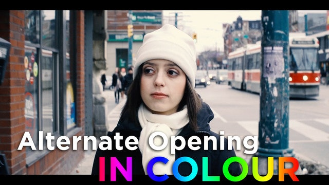 Alt. Opening Credits: In Colour!