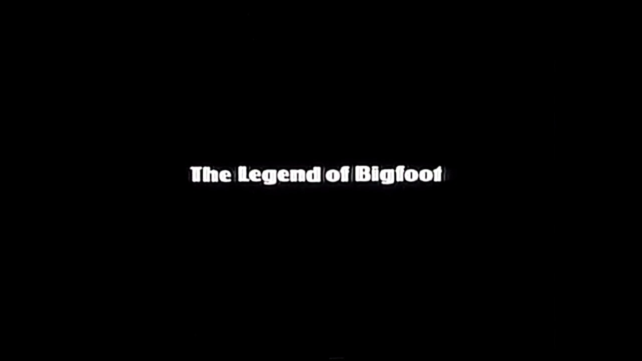 Retro VHS: The Legend of Bigfoot