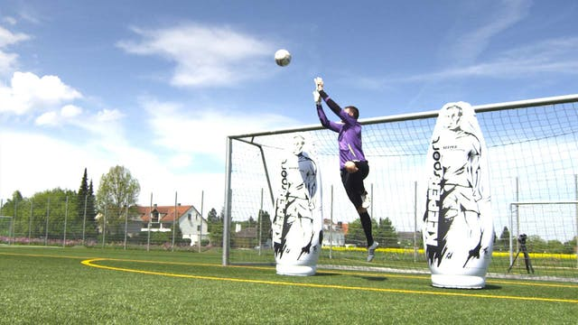 GOALKEEPER TRAINING INCLUDING ERROR ANALYSIS