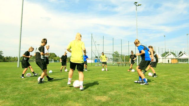 INNOVATIVE WOMEN'S SOCCER TRAINING