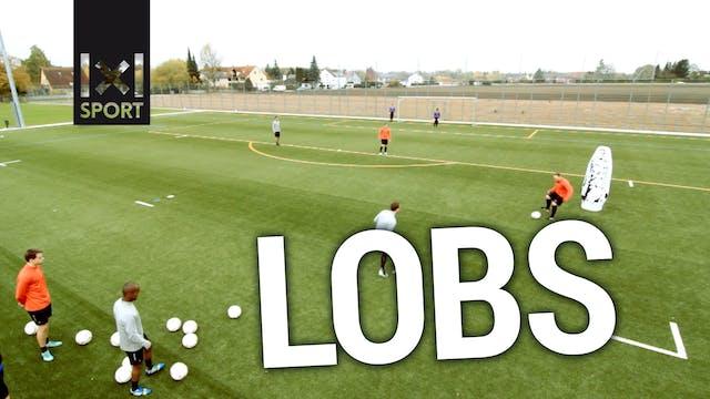 "Bonus Content: Playmaking, tactics & scoring: soccer drill ""LOBS"""