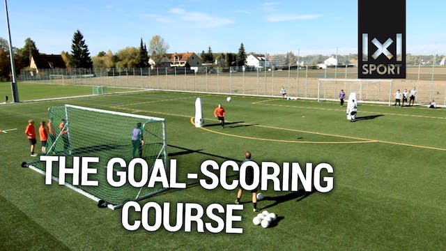 Bonus Content: Soccer drill for strikers: The goal-scoring course