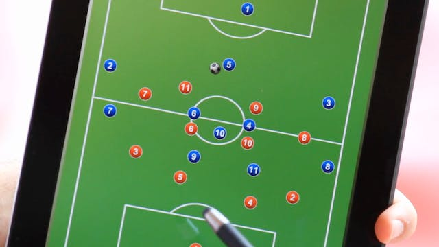 Feature Film Tactics in Soccer - Systems and Formations