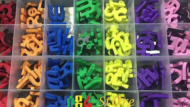 Amharic Magnetic Letters | All 231 al...