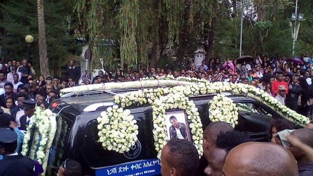 Tamrat Desta funeral