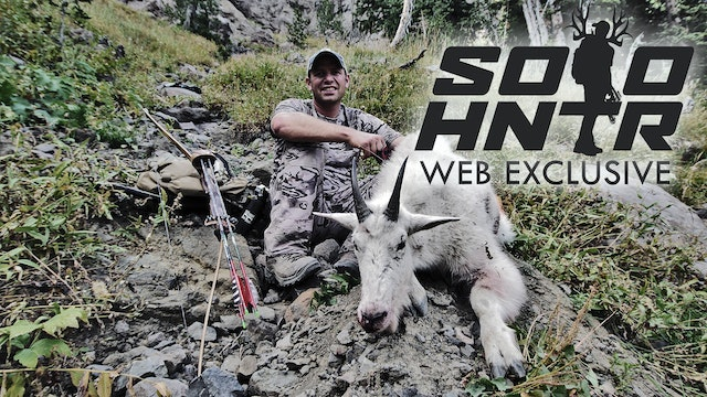 "THUNDERHORN ""Mountain Goat with a Longbow"" a SOLO HUNTER Web Exclusive Film"