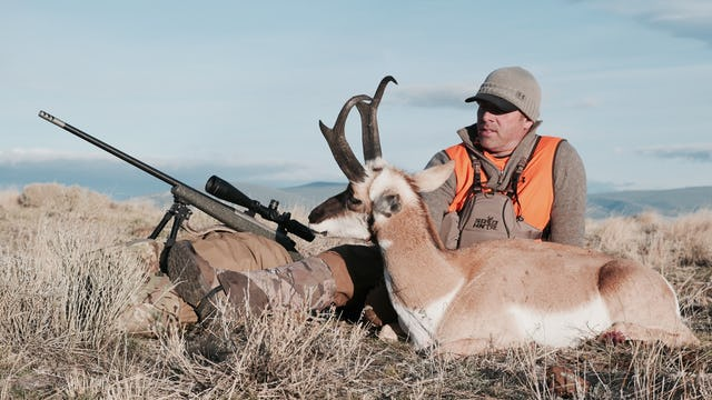 8.4 MOUNTAIN SPEED GOAT - Montana Antelope with Tim Burnett