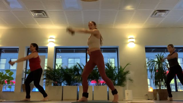 Live Beginners Sol with Regan, 1.31.21 (two 30 minute routines)