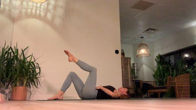 Pilates Class with Regan, 12.1.20