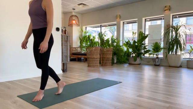 Pilates Class with Reem, 11.28.20