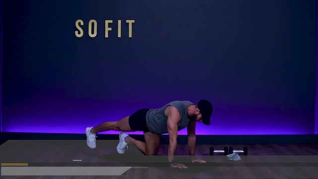 WOD S1 Ep 07 | 60 MIN | Butts and Guts with Rush Kemp | SoFit TV