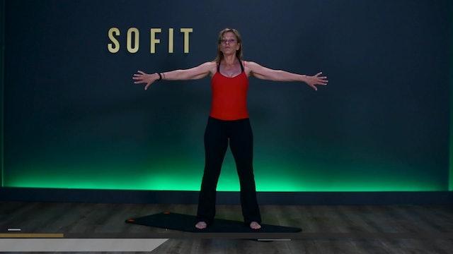 WOD S1 Ep 10 | 60 MIN | Pilates/ELDOA with Debbie Abbell | SoFit TV