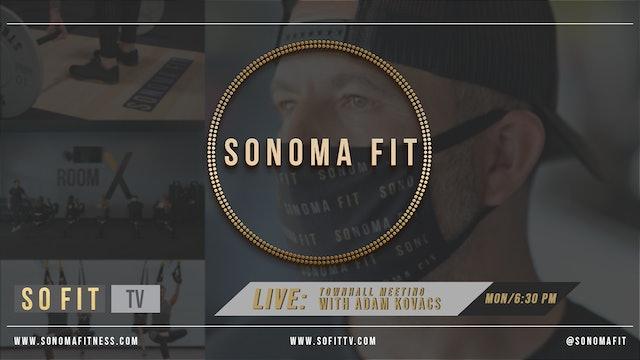 Town Hall Meeting w/ Adam Kovacs | LIVE at SoFit TV