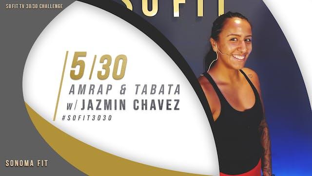 DAY 5/30 | AMRAP & Tabata w/ Jazmin C...