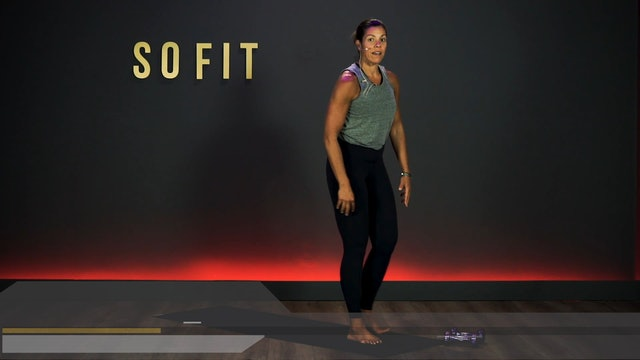 SATURDAY GET UP AND GO! | Vinyasa Sculpt w Lesley Giovannelli | WEEK 3 DAY 7