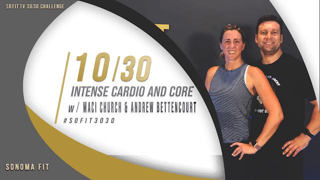DAY 10/30 | Intense cardio & core w/ ...